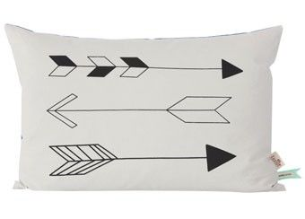 buy your native arrow pillow by ferm living here add yet whimsical style to your childu0027s room with ferm native arrow pillow