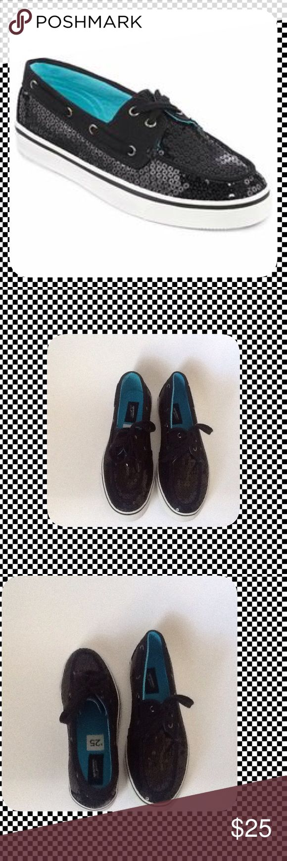 Arizona Black Sequin Shoes These Shoes are New and have Never been Worn!!! To keep Shipping low I will Ship Without the Box!!! Reasonable Offers Only!!! Arizona Jean Company Shoes