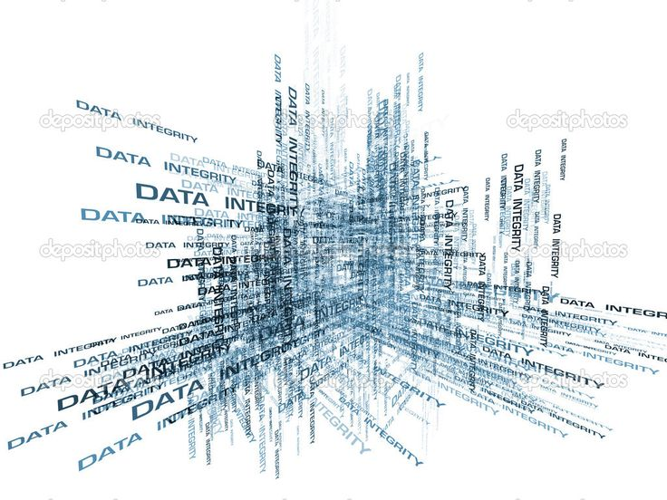 Data Integrity Abstract — Stock Image #8043971