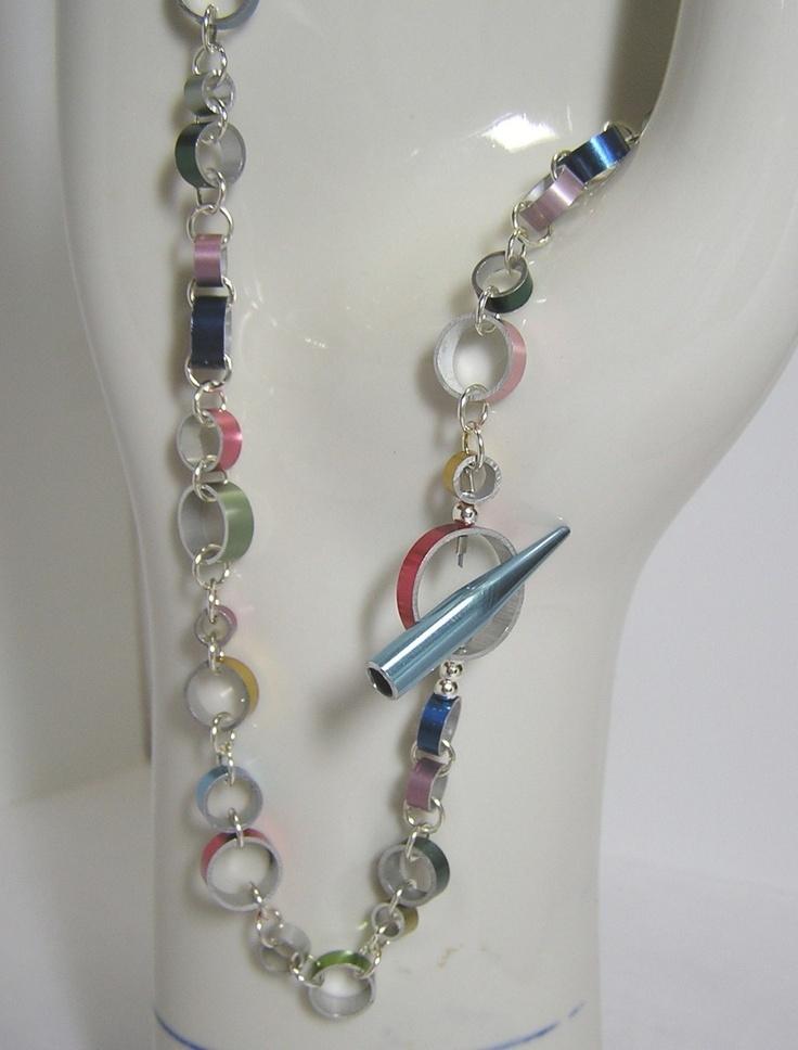 Knitting Needle Gauge Necklace : Best images about knitting needle jewelry on pinterest