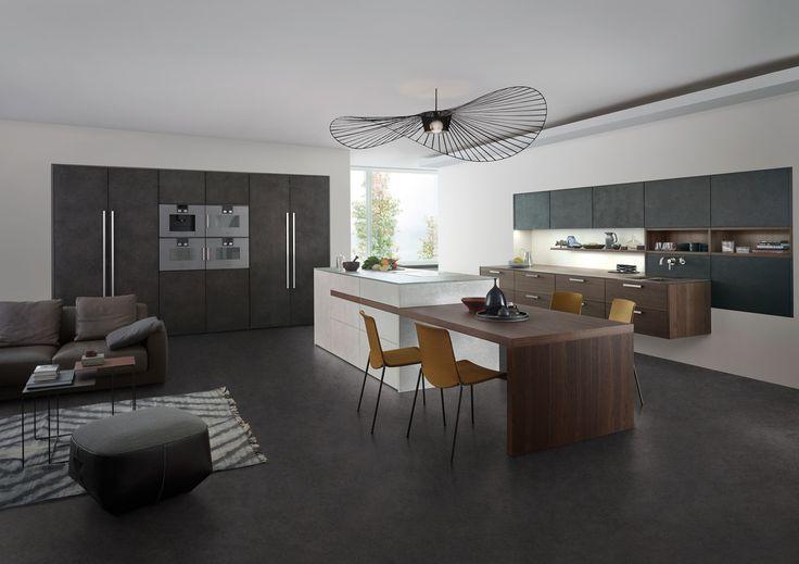 Concrete, unfurls its puristic look in modern architecture.