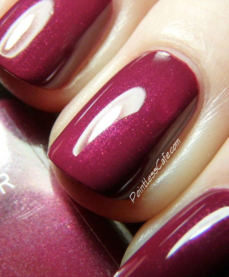 Nail of the Day: Chanel Fantastic #481 | Pointless Cafe