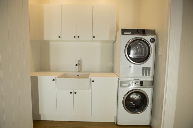 Alisa and Koan's Bathroom and Laundry - Room Reveals - Alisa and Koan - Teams - The Block NZ - Shows - TV3