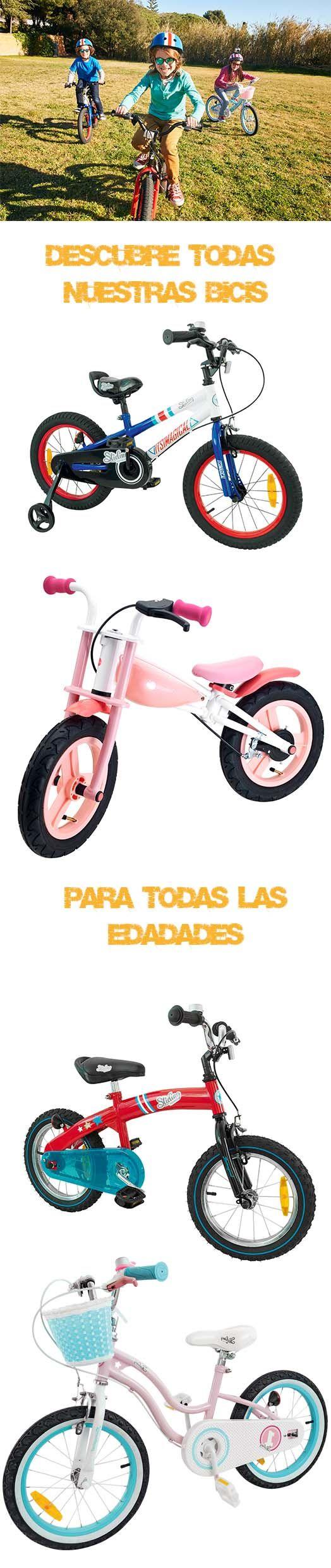 ¡Descubre todas nuestras bicis! Son super chulas, evolutivas y para todas las edades. Prepárate para un verano sobre ruedas ;) #bici #niño #verano #juguetessobreruedas #imaginarium