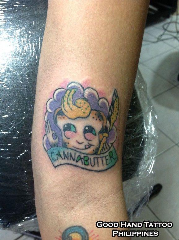 canna 578x773 8 Best, Craziest Weed Tattoos