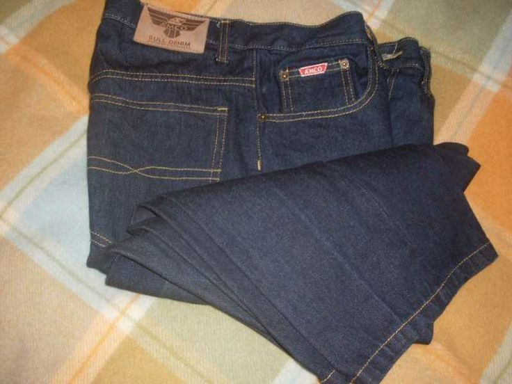 Free / First In - Listed on Bananas 4 Free auction website / Stuff 4 Free store. Amco Bull Denim Jeans Size 82cm As per photo.  Condition: Excellent.  Size 82cm  Length Approx. 1 Metre (From waist to bottom of leg)    The Pack & Post Cost of $8 must be paid by direct credit to our bank account before the jeans are sent out.  Thanks. $0.00 NZD