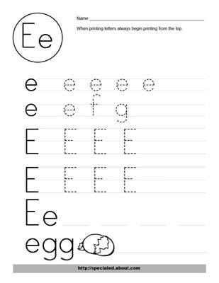 1000+ ideas about Letter E Worksheets on Pinterest   Alphabet ...