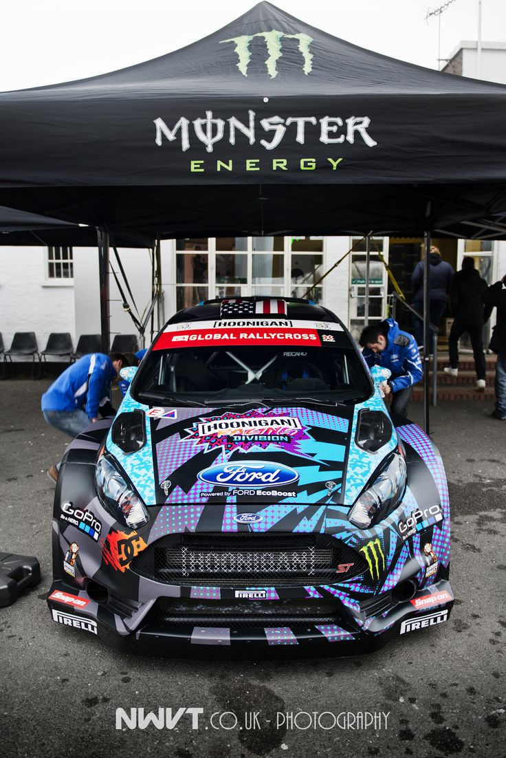 Ken Block's New RX43 Ford Fiesta Global Rallycross Car Unveil | Flickr - Photo Sharing!