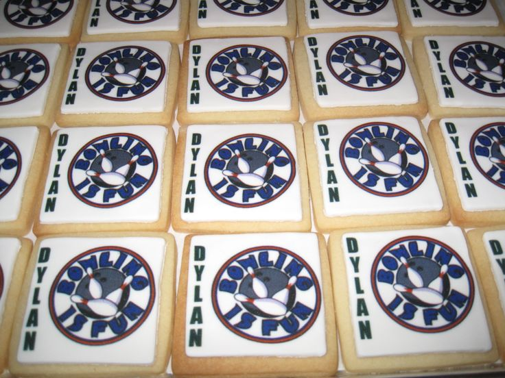 Dylan's birthday was complete with these personalized cookies
