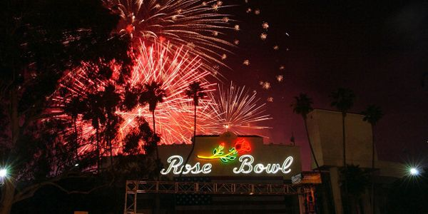 FIREWORKS at the ROSE BOWL, JULY 4, 2014 - LOS ANGELES