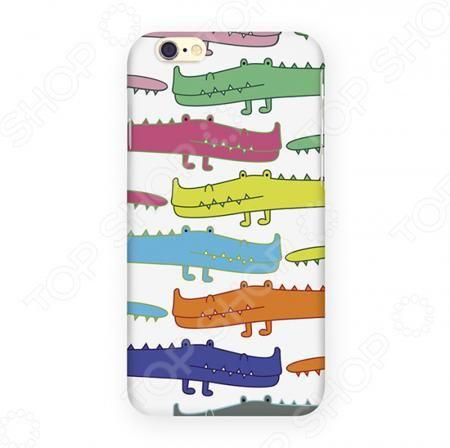 Mitya Veselkov «Большие крокодилы»  — 750 руб. —  Чехол для iPhone 6 Mitya Veselkov Большие крокодилы обладает современным оригинальным дизайном, удобен в использовании и приятен на ощупь. Предназначен для тех, кто не представляет жизни без цифровых устройств. Позволяет защитить ваш телефон от повреждений и царапин. Легкая конструкция обеспечивает удобство использования и беспрепятственный доступ ко всем функциям в любой момент времени.