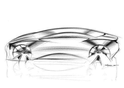 Monday Lexus sketch.
