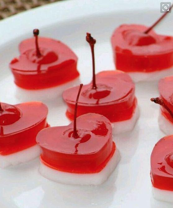 Gelatina San Valentín