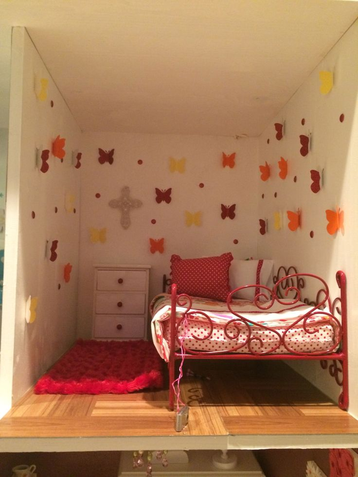Pinterest American Girl Bedrooms American Girl Dolls And Dollhouses. The Doll Bed I Got For Christmas Fits In It Great Ag Doll Bedroom