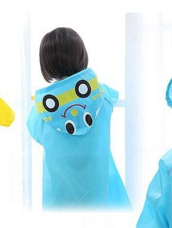 Cute Kids Raincoat children Raincoat Rainwear Rainsuit Kids Waterproof Animal Raincoat 1pcs