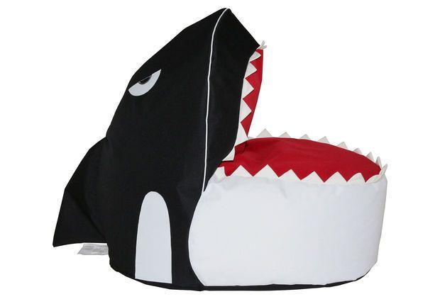 Orca Bean Bag Chair, Black, Bean Bags