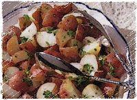 Эликсир молодости: Картофель с соленым лимоном и оливками