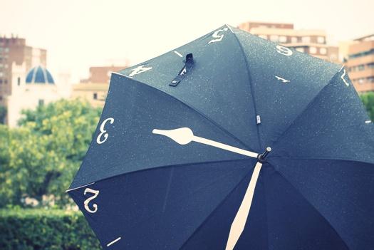 tunear un paraguas