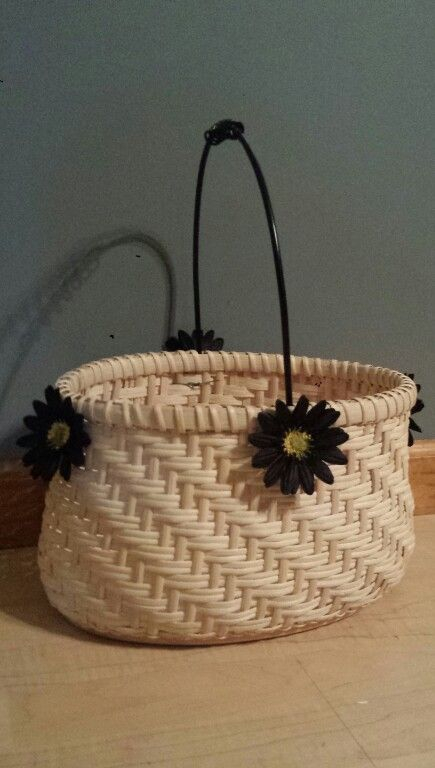 Twill basket I just finished.