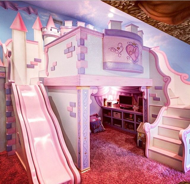 Girls Bedroom Decor Ideas: Children Room Girl, Castle