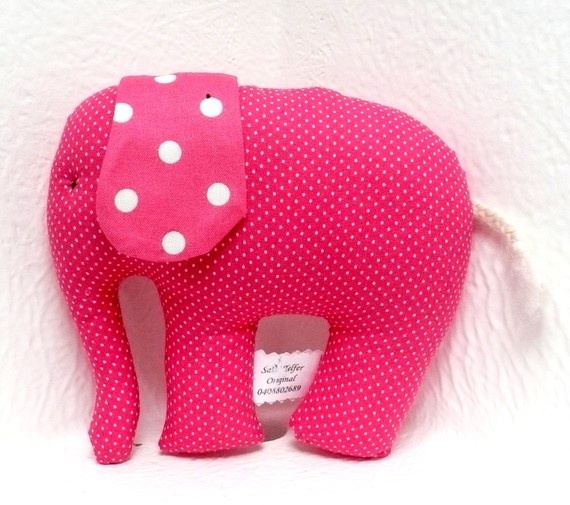 Soft Stuffed Toy Elephant for Baby