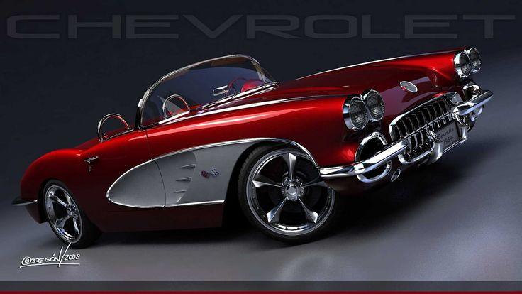 https://flic.kr/p/d4fRjq | 1959 Corvette Roadster Resto-Mod