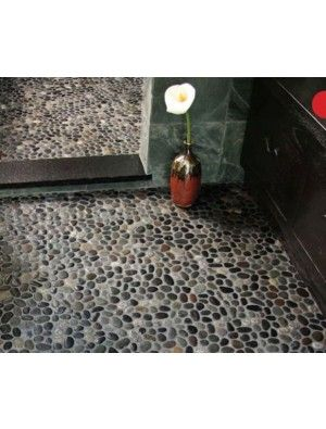buy meshed pebble floor tile online and also buy pebble mosaic tiles pebble tile