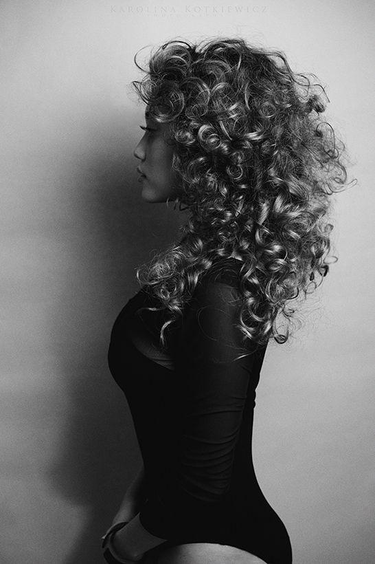 beauty hair body portrait makeup curly hair