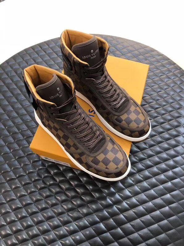 Louis Vuitton lv man shoes leather
