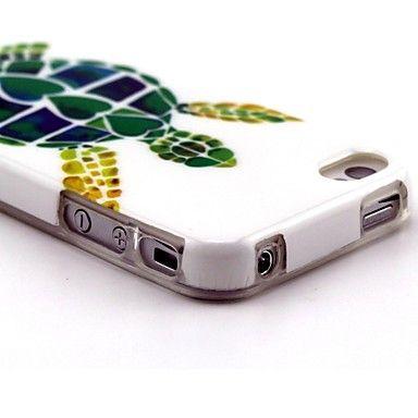 modello tartaruga TPU custodia morbida per iphone 4 / 4s – EUR € 3.99