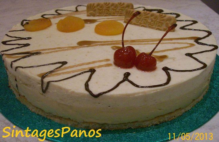 Ζαχαροπλαστική Πanos: Τούρτα μπισκότο Μιράντα