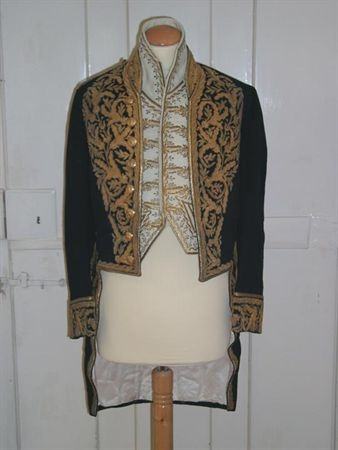 Later neo style ... Embassador's coat (part of the uniform) 1910
