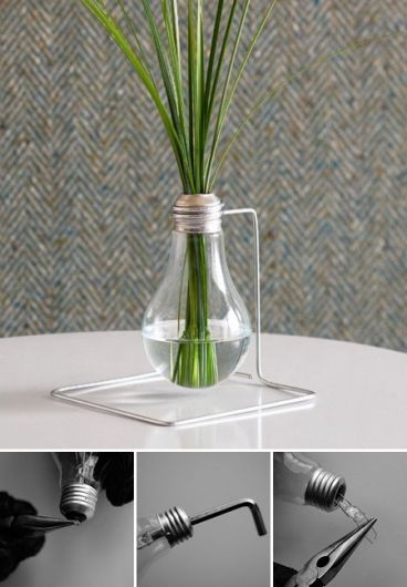 I would probably never make this myself but very cool recycling project!