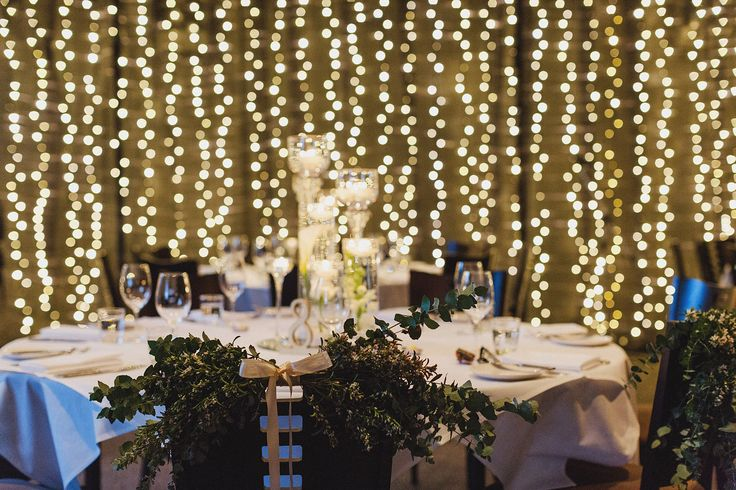 gorgeous green chair decoration makes an interesting change to chair covers!