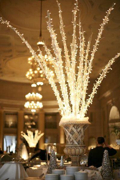 new year's eve wedding centerpiece ideas - Google Search