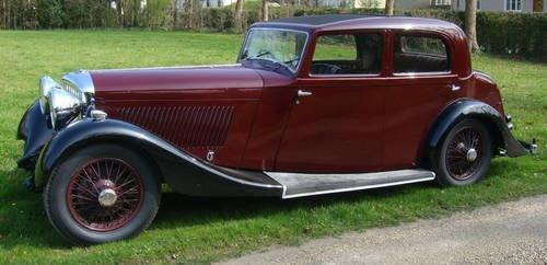 1934 Derby Bentley Park Ward Aluminium Body For Sale