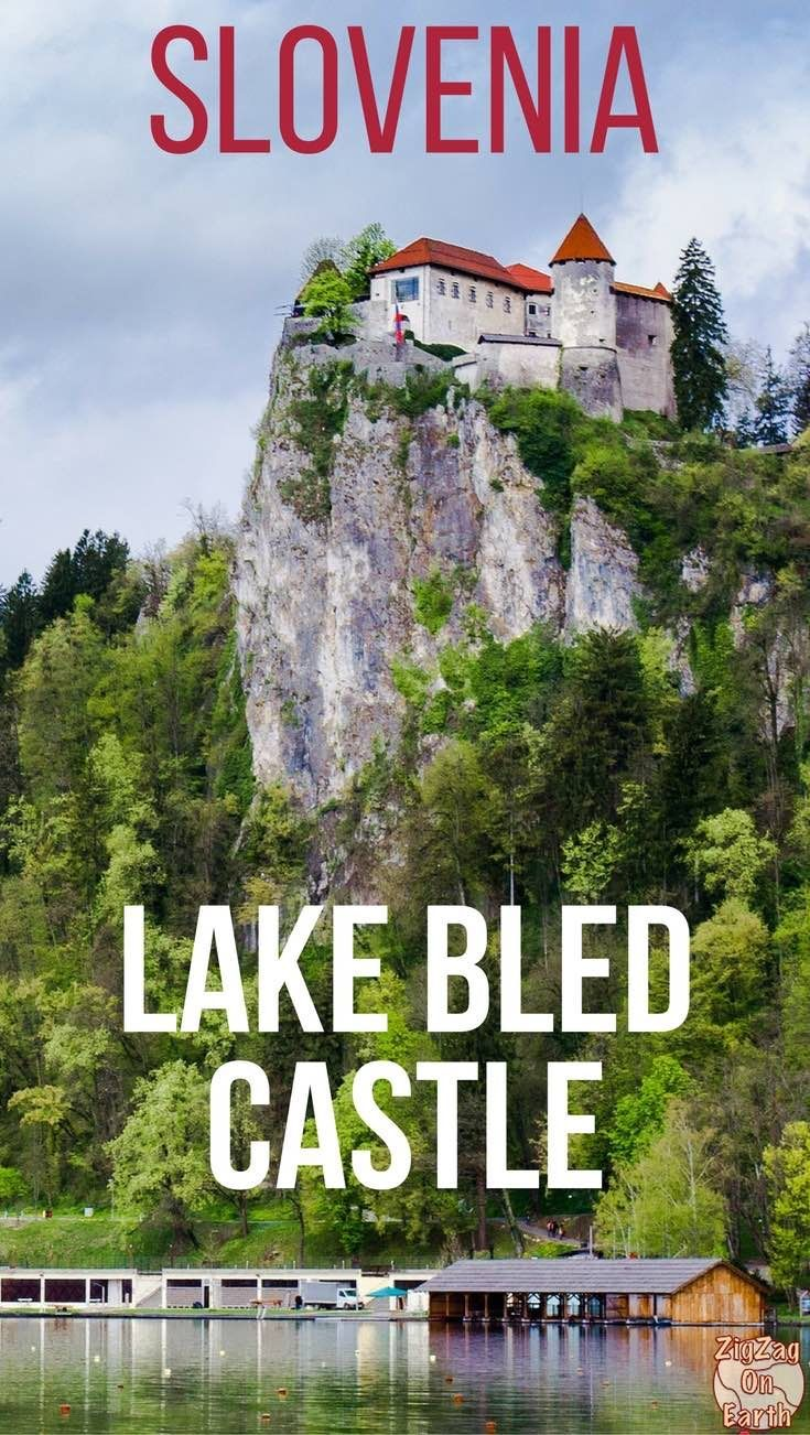 Slovenia Travel Guide - Discover the old Lake Bled Castle located on a precipice above Lake Bled. It offers magnificent views of the area - Photos, video and planning tips   #slovenia   #Ifeelslovenia   Slovenia Road Trip   Slovenia things to do