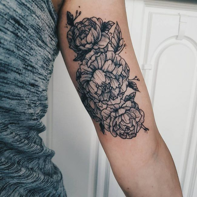 25 best ideas about inner bicep tattoo on pinterest for Tattoo on forearm pain