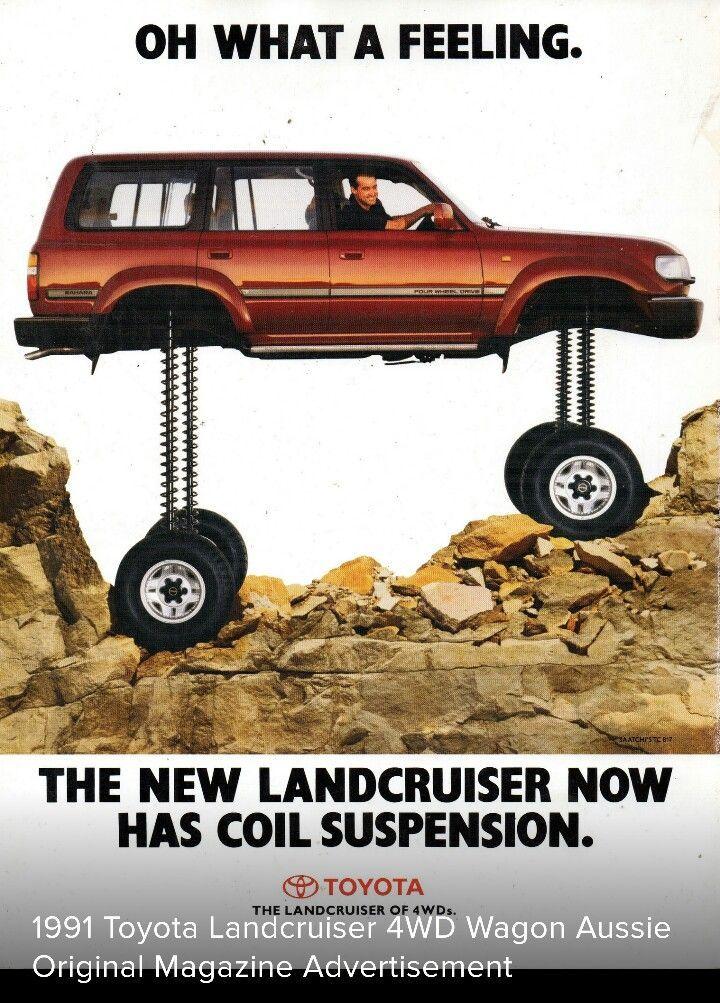 1991 Toyota Land Cruiser - Australia #toyotavintagecars