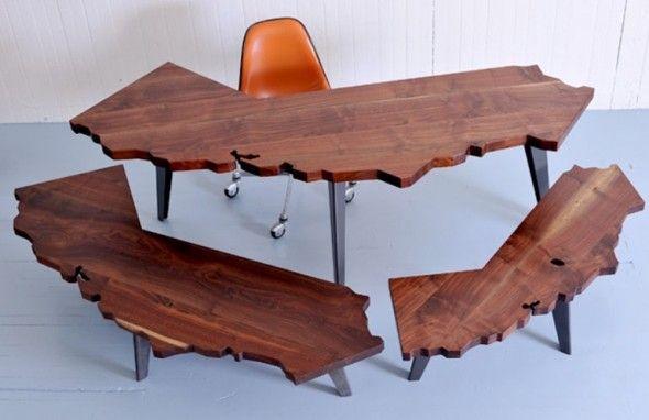Broken Wood Table   Unusual Furniture   Furniture   Pinterest   Unusual  Furniture, Wood Table And Woods Nice Look