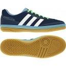 Zapatillas de Futbol Sala Janeirinha Sala Marino-Blanco. Fabricadas en lona. Se adaptan como un guante para los jugadores más técnicos. Consiguelas aqui: http://www.deportesmena.com/botas-futbol-sala-adidas#