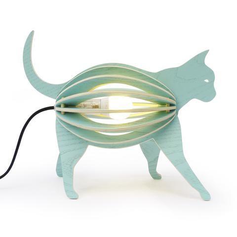 Lampe chat à poser – Zooo - Hariet et Rosie Gone's Design Parfaite pour décorer une chambre d'enfant