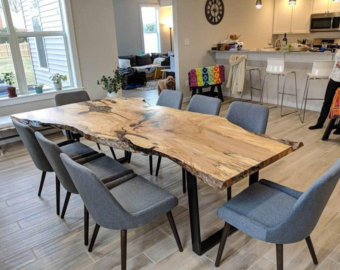 Epoxy Tables River Tables Live Edge Tables Dining Table Coffee