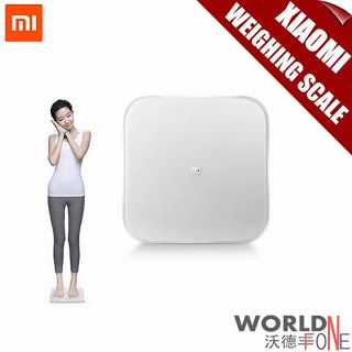 Original Xiaomi Mi Smart Weighing Scale Xiaomi Mi Scale Xiaomi Weigh Balance Support Android 4.4 iOS7.0 Above Bluetooth 4.0 (32669212618)  SEE MORE  #SuperDeals