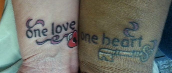 61 best his an her tats images on pinterest couple for Ink craft tattoo