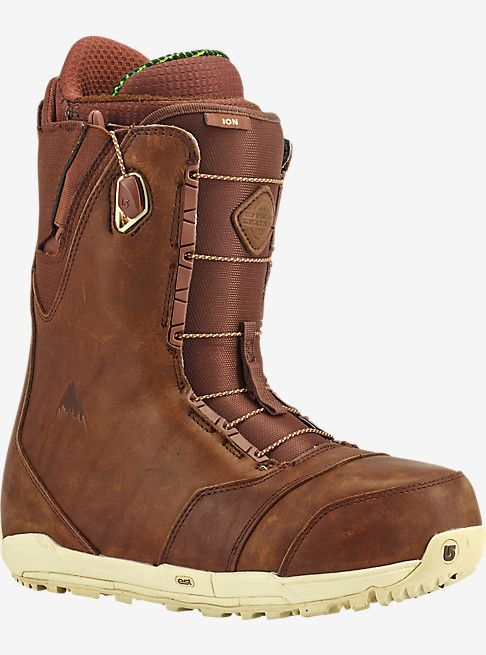 Red Wing® x Burton Ion Leather Snowboard Boot | Burton Snowboards Winter 16