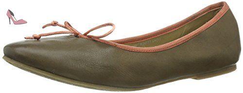 SPM  Miramas, Semelles compensées femme - Vert - Grün (Olive Green), Taille 37 EU - Chaussures pms (*Partner-Link)