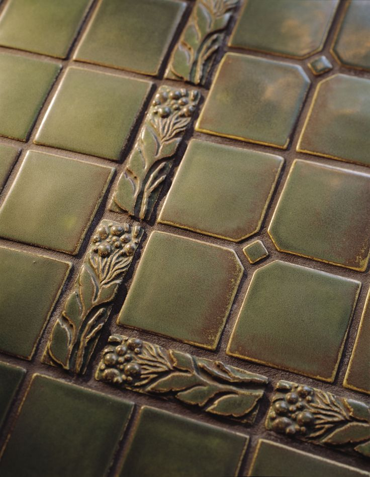 17 best images about arts crafts borders on pinterest for Arts crafts tiles