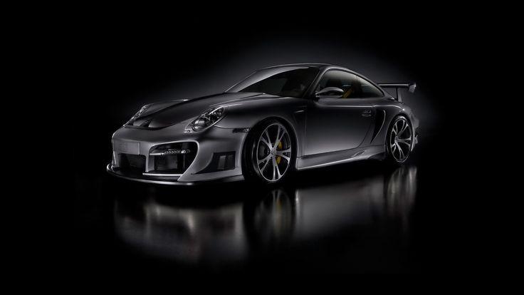 Dark Porsche Gt Street Racing Hdtv 1080p Wallpapers Hd Wallpapers Porsche 911 Turbo Black Porsche Porsche 911 Gt2