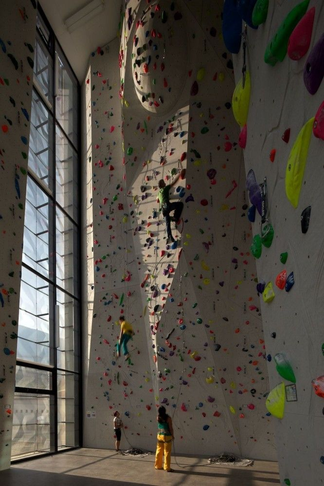 Indoor Rock Climbing   Architects: W. Meraner – M. Mutschlechner  Location: Brixen, South Tyrol, Italy